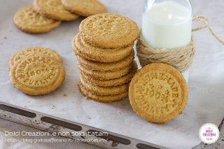 Biscotti integrali senza burro, al limone