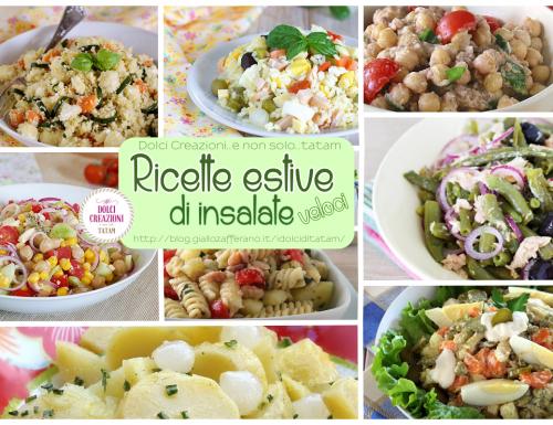 Ricette estive veloci di insalate di tutti i tipi