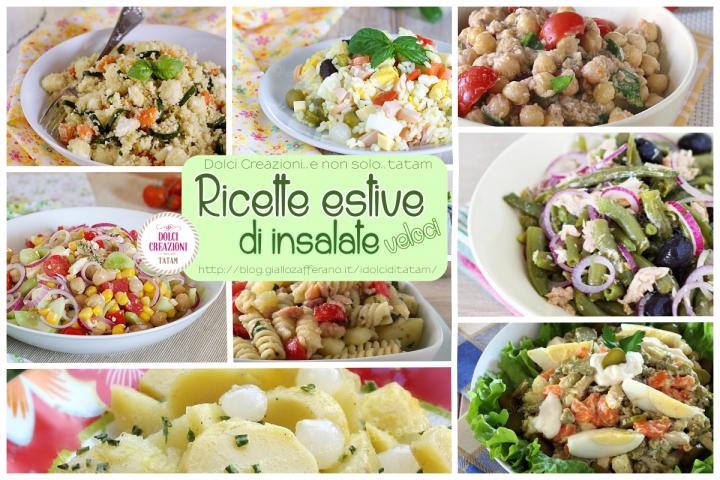 Ricette estive veloci di insalate
