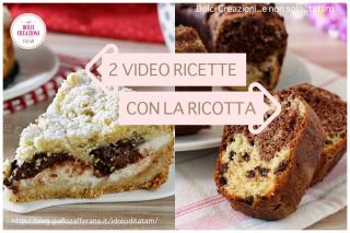 Video ricette dolci con la ricotta