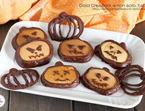 Pancakes zucche di Halloween