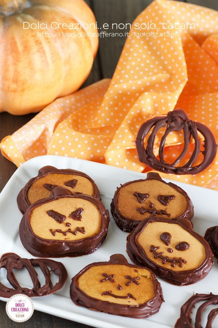 Pancakes zucche di Halloween1