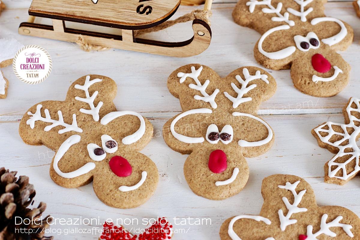 Regalare Biscotti Di Natale.Biscotti Renne Di Natale Di Pan Di Spezie Graziosissimi