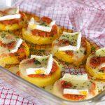 Medaglioni di polenta al forno