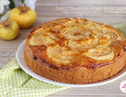 Torta di mele senza latte e senza burro, soffice e umida