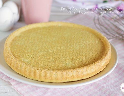 Base per crostata morbida con stampo furbo