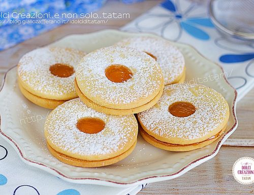 Ricetta Biscotti fatti in casa occhio di bue