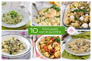 Ricette di Primi piatti con le zucchine