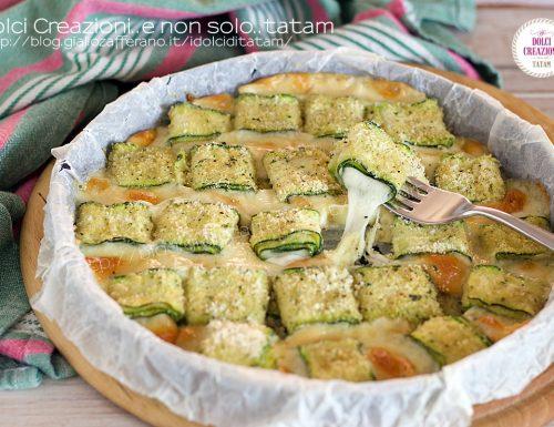 Rotolini di zucchina e scamorza filante, con la video ricetta