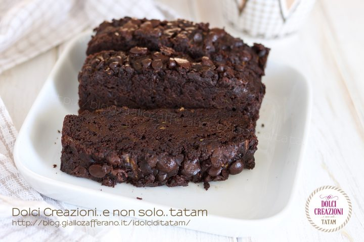 Torta di zucchine al cioccolato