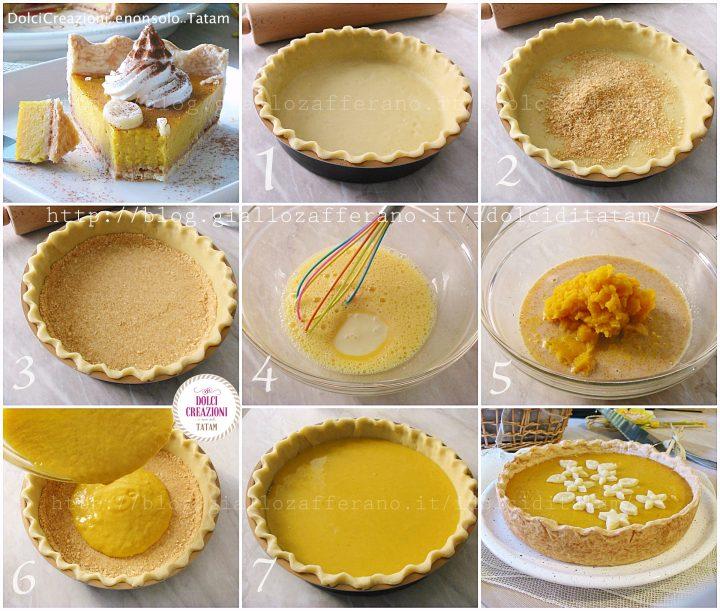 Pumpkin Pie - Torta di zucca passo-passo