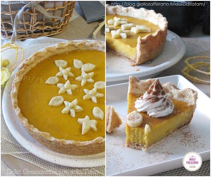 Pumpkin Pie Torta di zucca