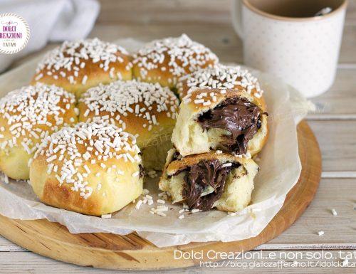 Torta Danubio dolce alla nutella, pan brioche sofficissimo