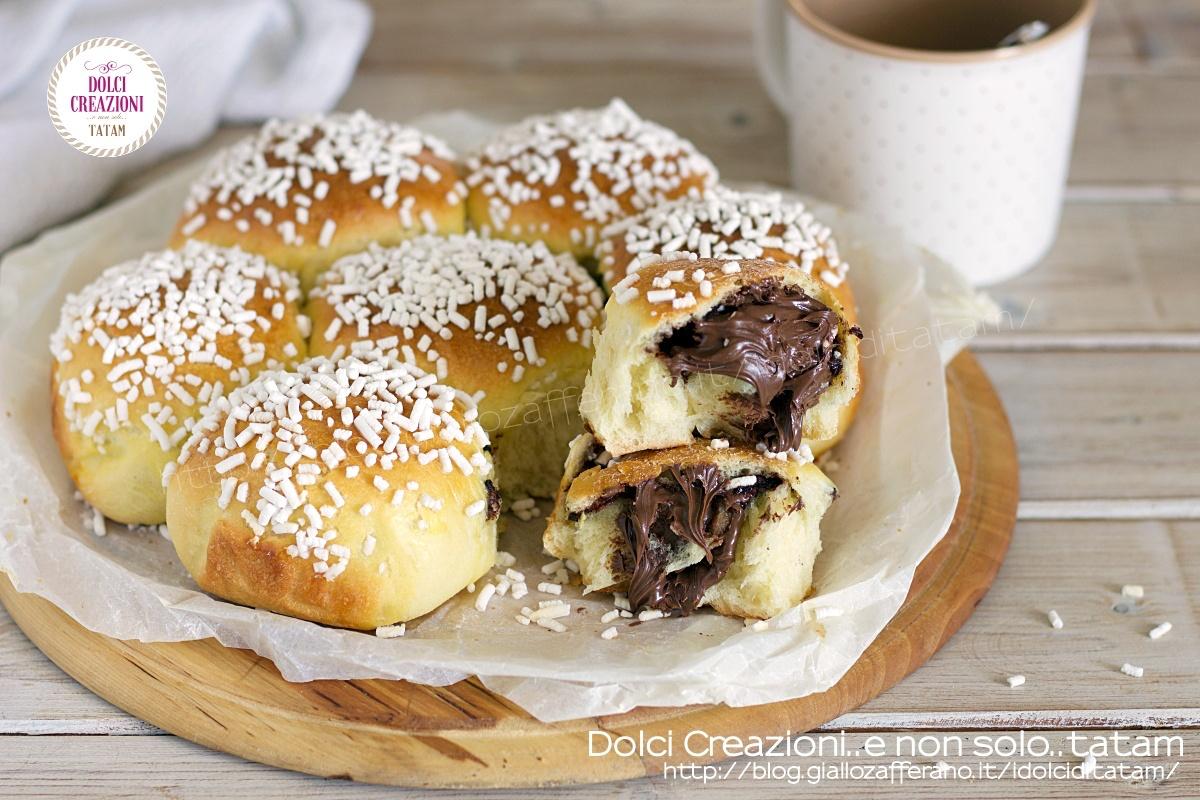 Torta Danubio dolce alla nutella sofficissimo