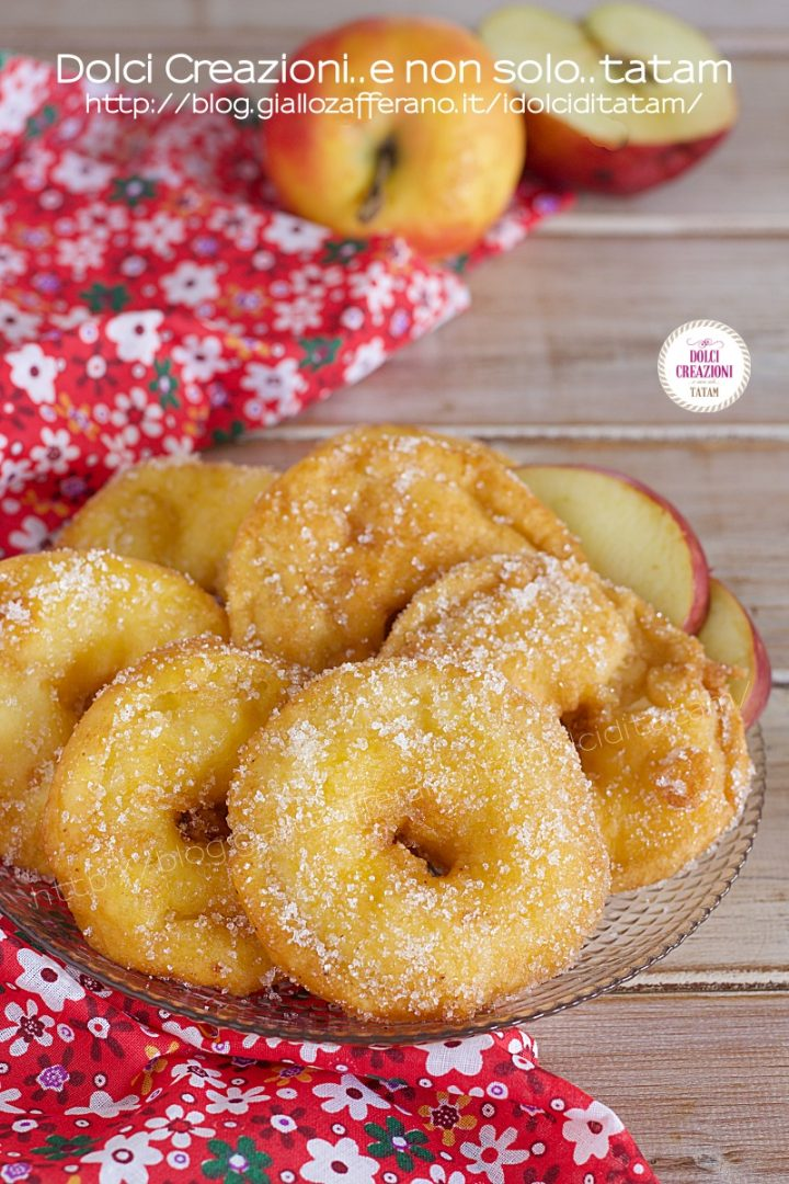 Frittelle di mele veloci senza zucchero