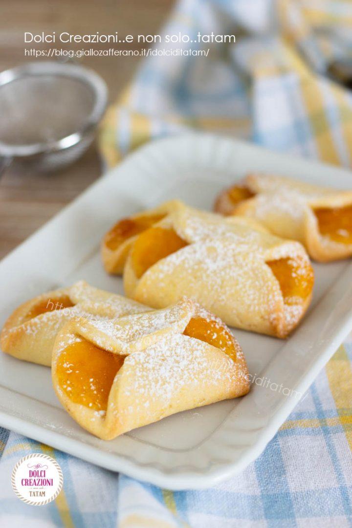 Biscotti frollini alla confettura ricetta semplice