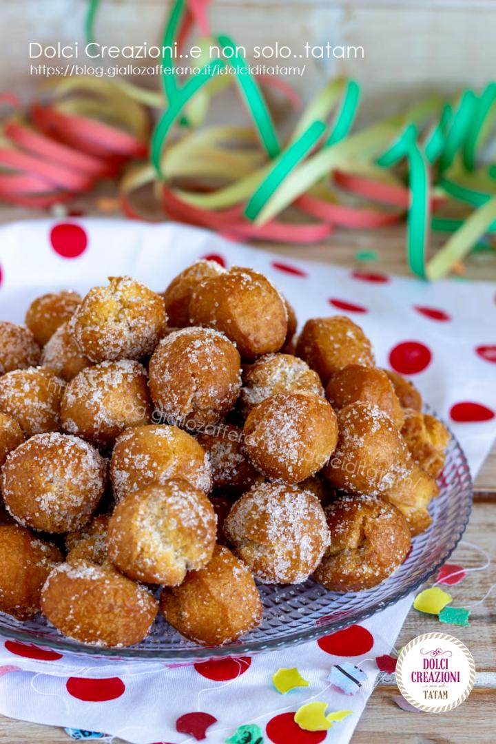 Castagnole classiche di Carnevale ricetta