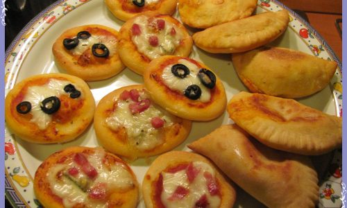 Pizzette e panzerotti fantasia