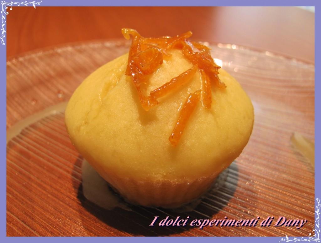 Muffins ricotta e arancia