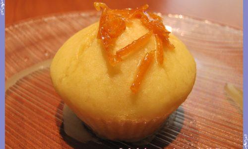 Muffins di ricotta al profumo di arancia