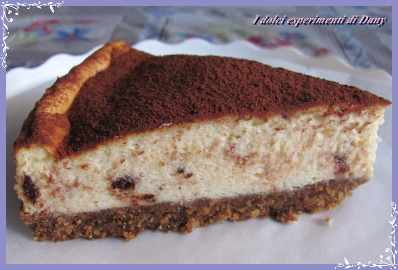 Cheesecake tiramisù | I dolci esperimenti di Dany
