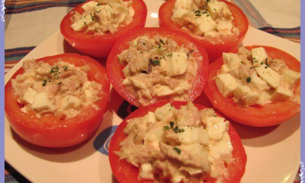 Pomodori al tonno e mozzarella