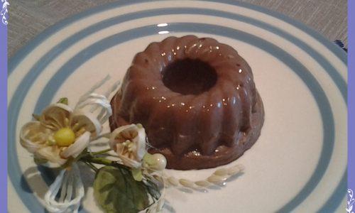 Panna cotta al cioccolato e Grand Marnier