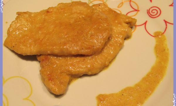 Fettine di lonza al curry