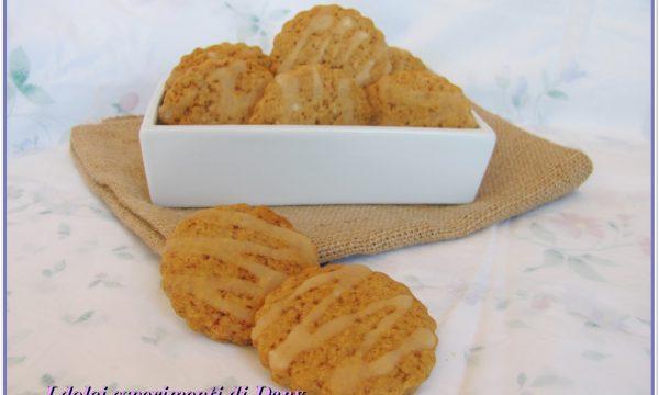 Biscotti alle spezie e arancia