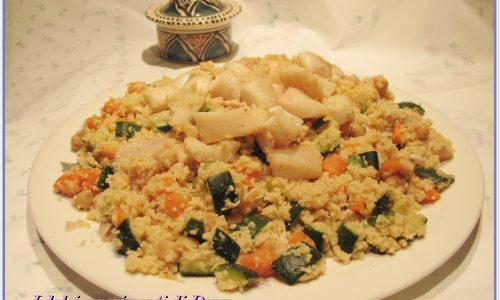 Cous cous di pesce e verdure