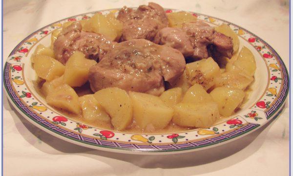 Ossibuchi in umido con patate