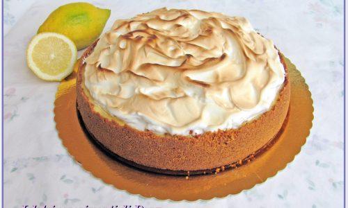 Cheesecake al limone e meringa