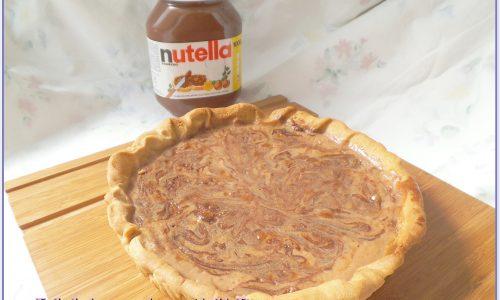 Crostata al mascarpone e nutella