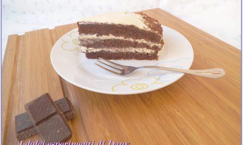 Torta al cioccolato e crema al mascarpone
