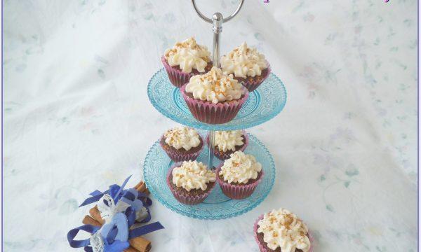 Mini cupcakes al cacao e cannella