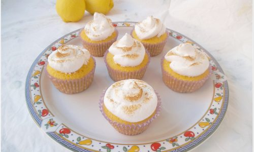 Cupcakes meringati al limone