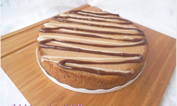 Cheesecake alla Nutella e cioccolato bianco