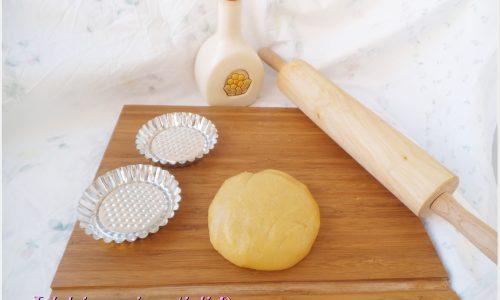 Pasta frolla con olio di semi
