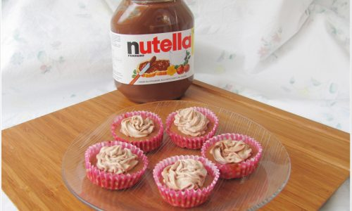 Mini cupcakes alla Nutella