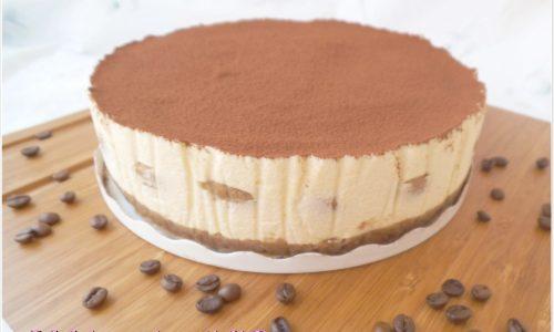 Cheesecake tiramisù senza cottura