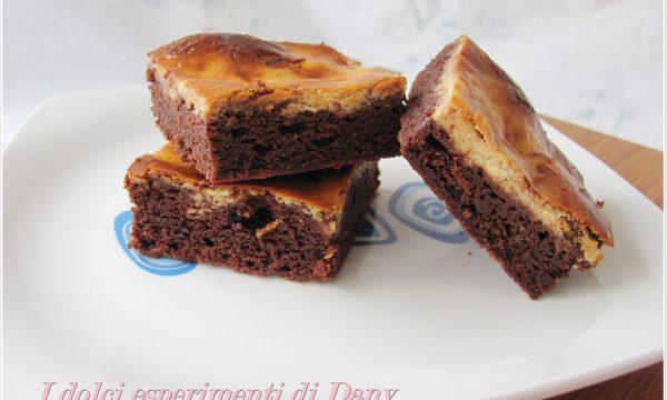 Brownies al formaggio senza lattosio