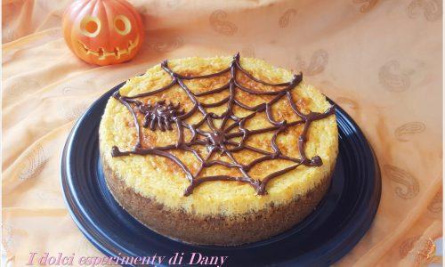 Halloween Cheesecake alla zucca