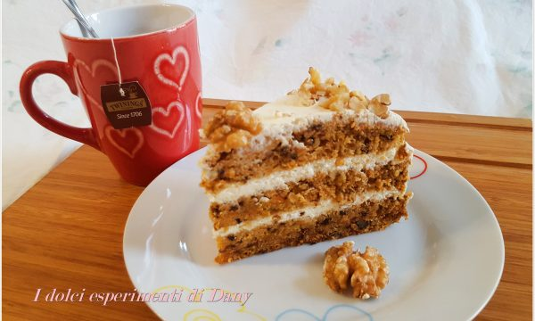 Carrot cake all'americana (tipo Starbucks)