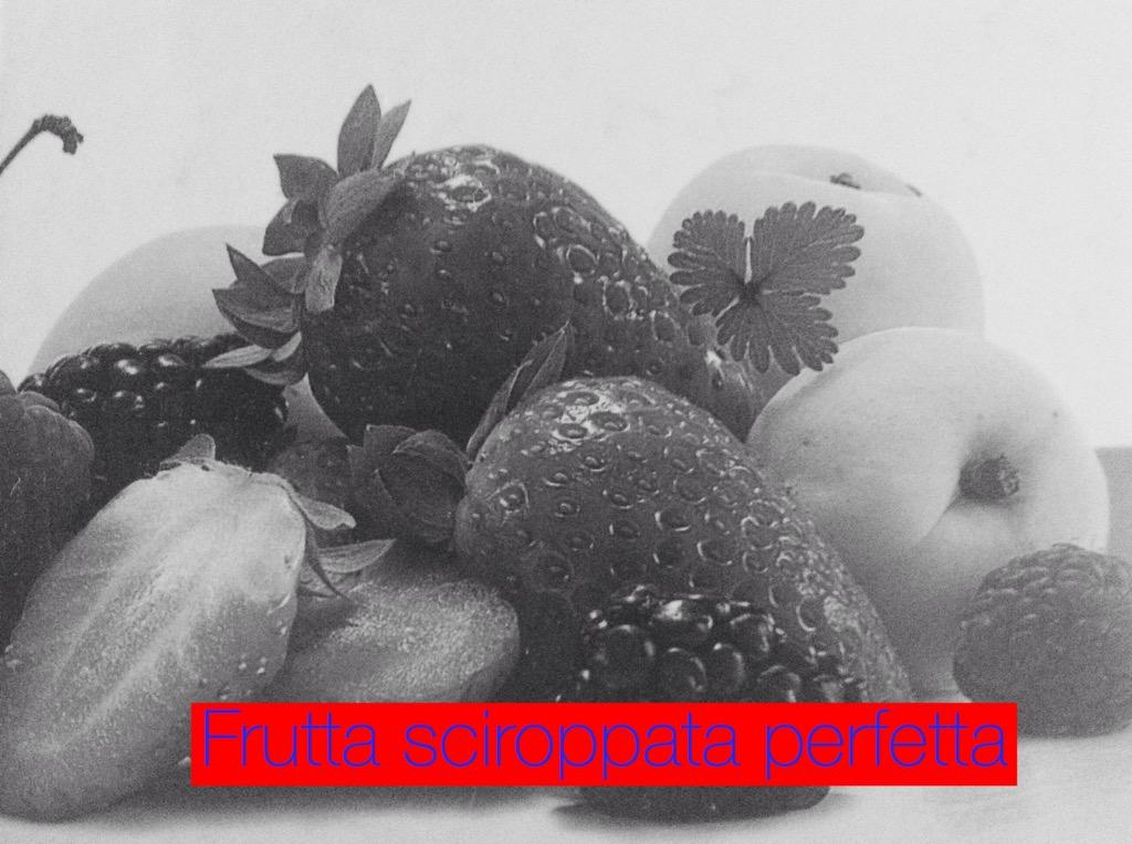 Come fare la  frutta sciroppata