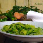 Contorno leggero di zucchine e patate al pesto