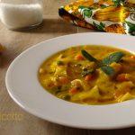 Minestrone di zucca e verdure di stagione