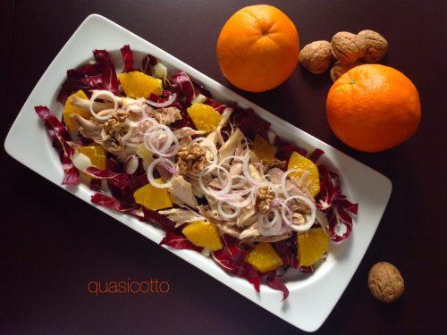Insalata al cappone e arance