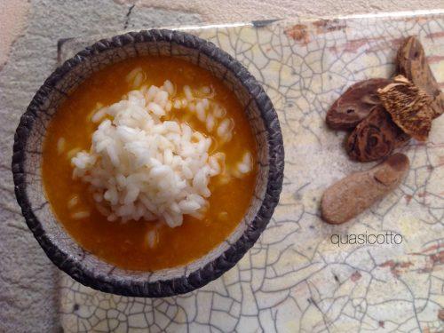 Zuppa di verze,  patate e riso
