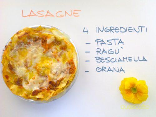 Lasagne classiche, versione veloce della ricetta di famiglia