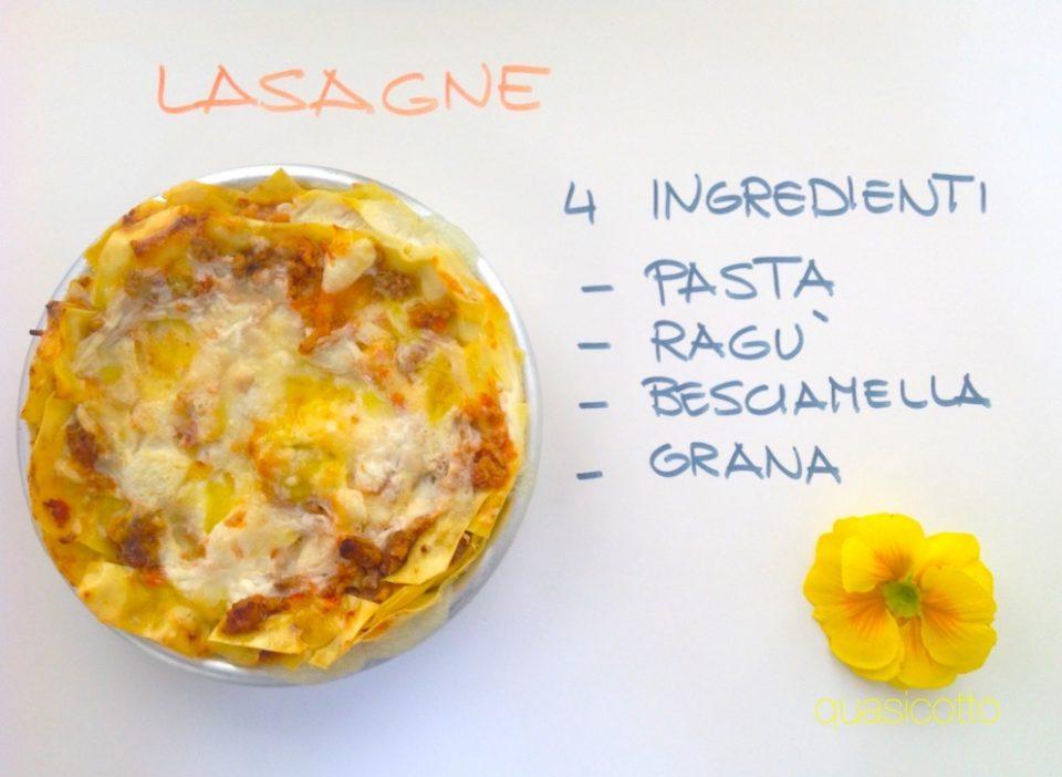 Lasagne classiche versione veloce della ricetta di famiglia